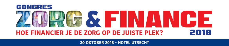Zorg & Finance   30 oktober 2018