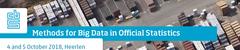 Methods for Big Data in Official Statistics
