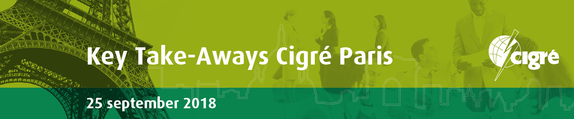 Key Take-Aways Cigre Paris