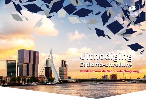 Diploma-uitreiking Logistics Management deeltijd