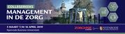 Collegereeks Management in de zorg   5 maart 2019