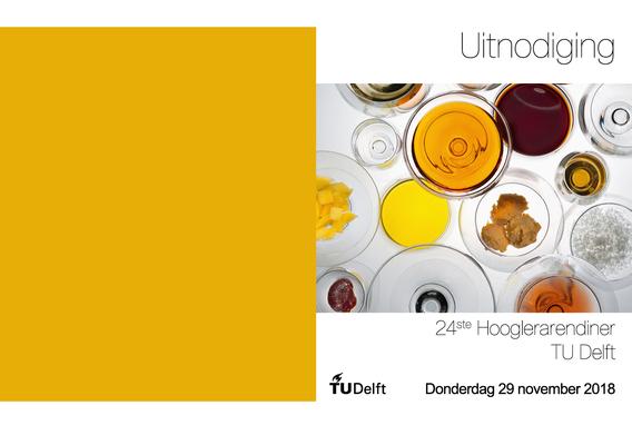 Hooglerarendiner TU Delft 2018