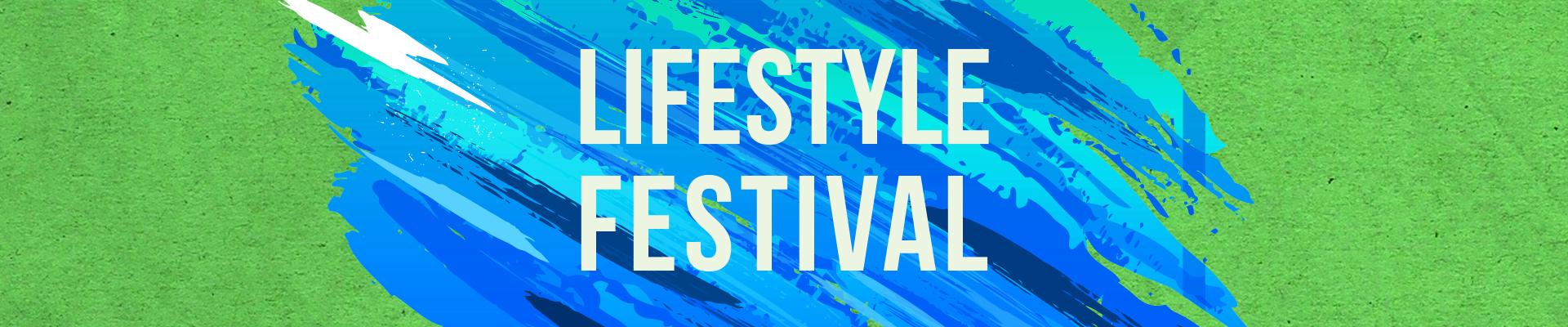 Lifestyle festival, aanmelding workshopgevers