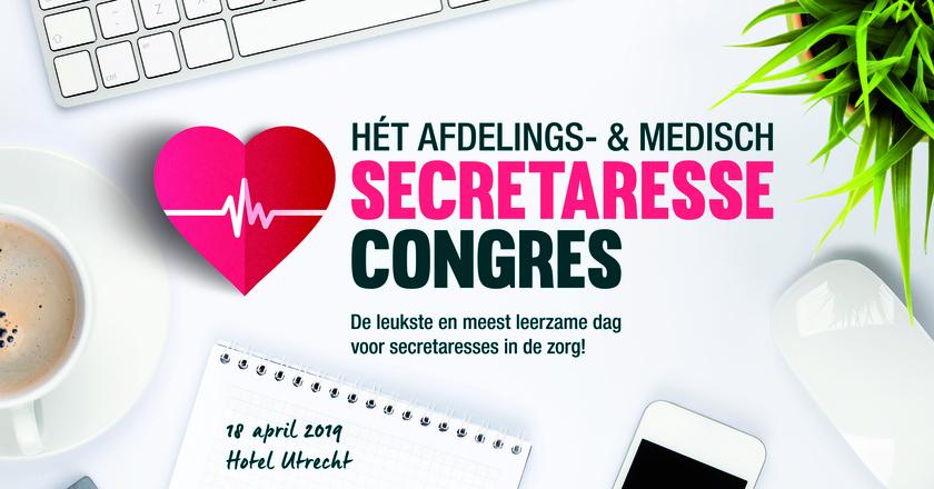 Secretaressecongres | 18 april 2019