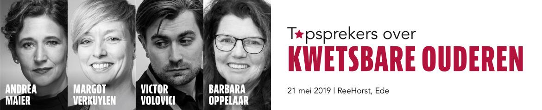 Topsprekers over Kwetsbare Ouderen | 21 mei 2019