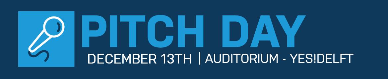 Pitch Day | 13 DEC 2018