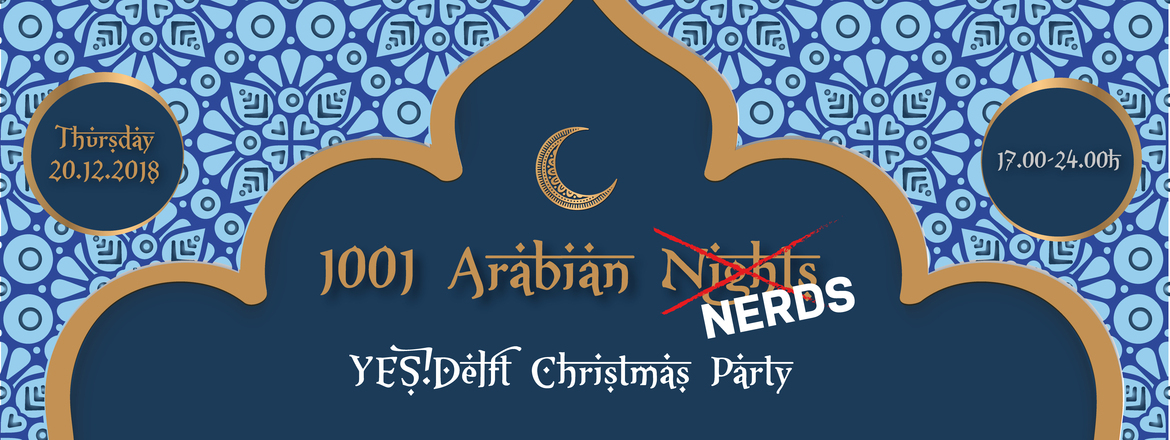 YES!Delft Christmas Party 2018