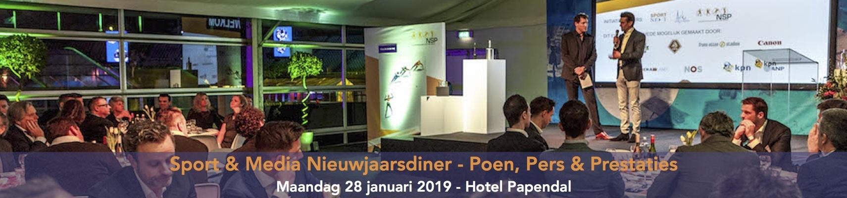 Sport & Media Nieuwjaarsdiner 2019