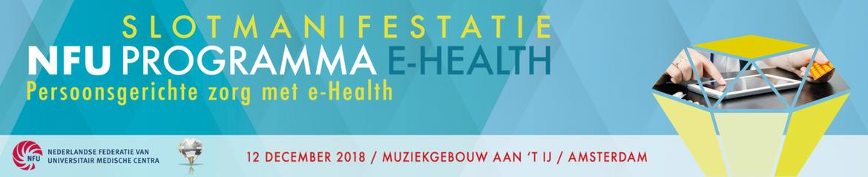 Gasten: Slotmanifestatie NFU Programma e-Health | 12 december 2018