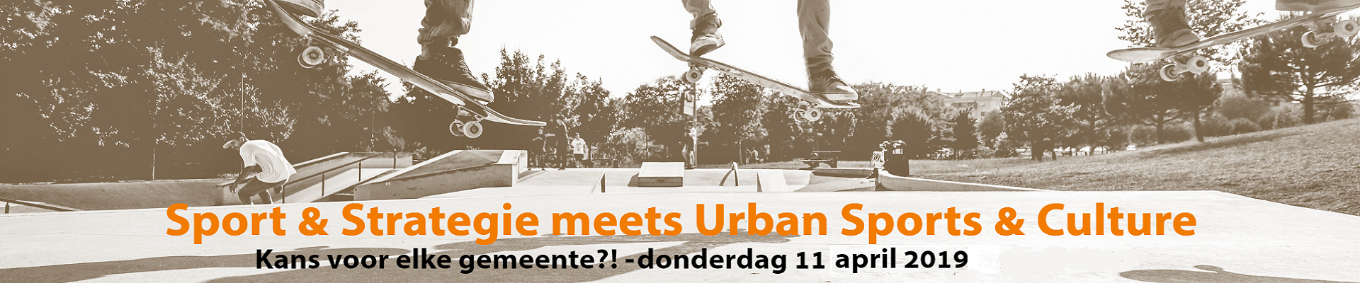 Sport & Strategie meets Urban Sports & Culture