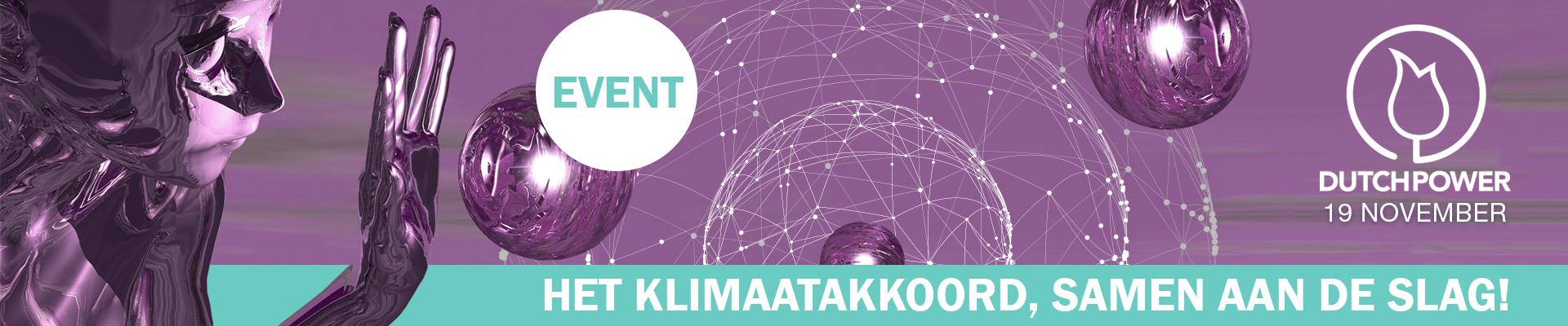 Klimaatakkoord, samen aan de slag!