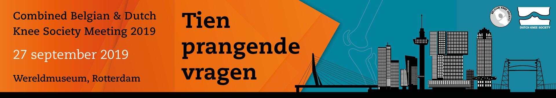 Combined Belgian & Dutch Knee Society Meeting 2019