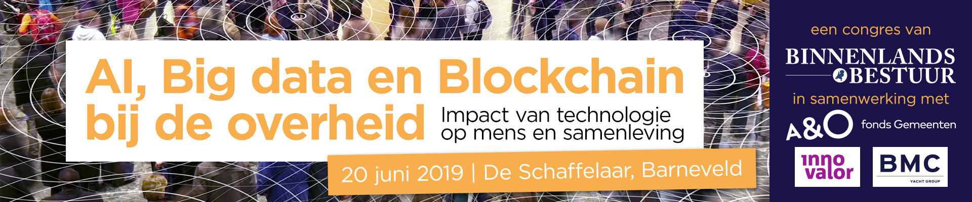 Congres AI, Big Data en Blockchain