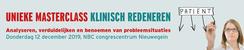 Masterclass Klinisch Redeneren   12 december 2019