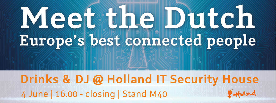 International gathering at Holland IT Security House @ Infosec London
