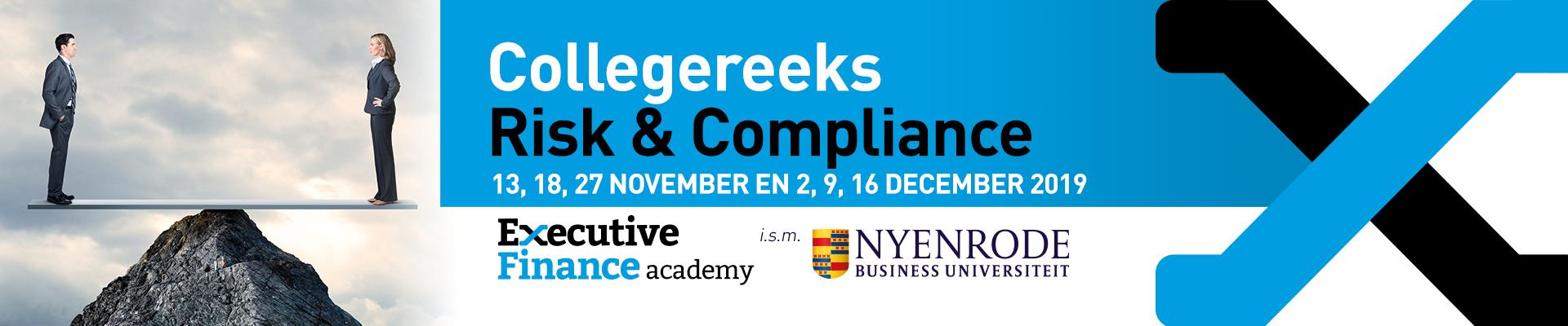 Collegereeks Risk & Compliance najaar 2019