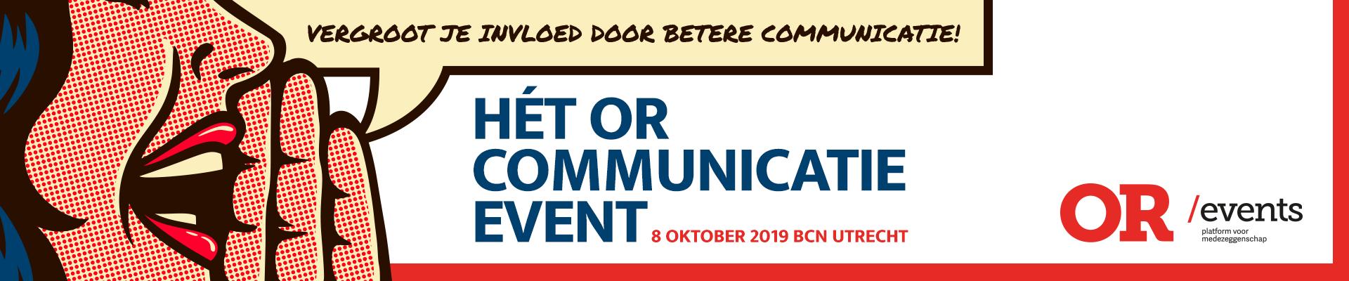 Hét OR communicatie event