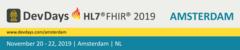 HL7 FHIR DevDays 2019