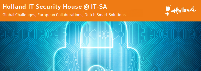 International gathering at Holland IT Security House @ IT-SA 2019