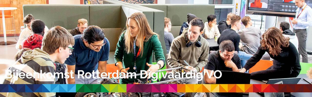 Bijeenkomst Rotterdam Digivaardig Voortgezet Onderwijs
