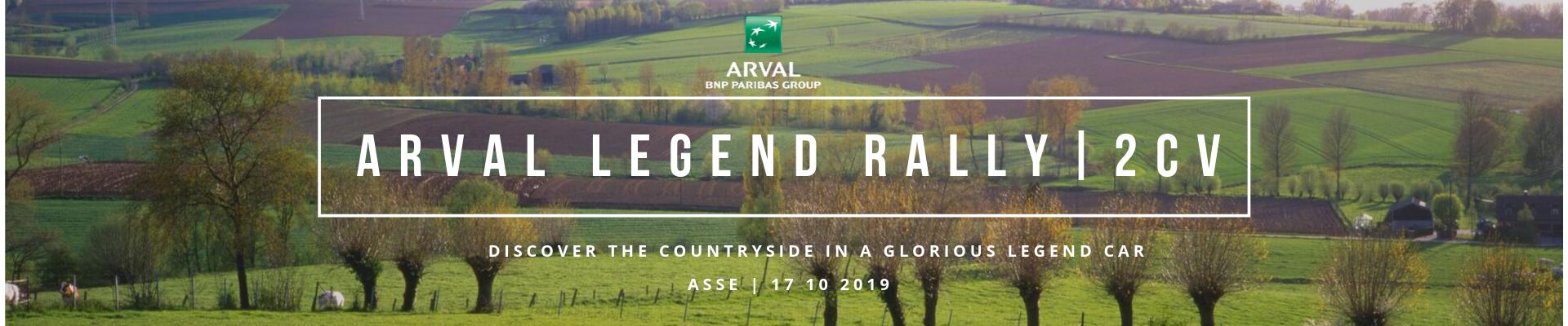'Arval Legend Rally' | 2CV'