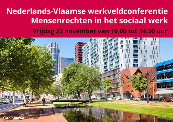 Nederlands-Vlaamse werkveldconferentie Mensenrechten in het sociaal werk
