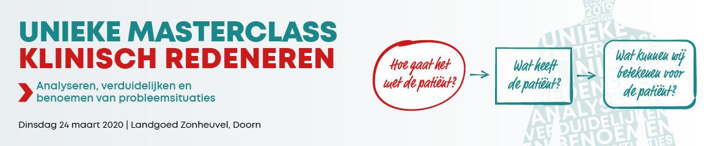 Masterclass Klinisch Redeneren   24 maart 2020