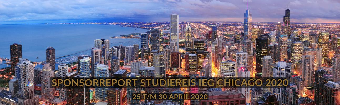 Sponsorreport Studiereis IEG Chicago 2020