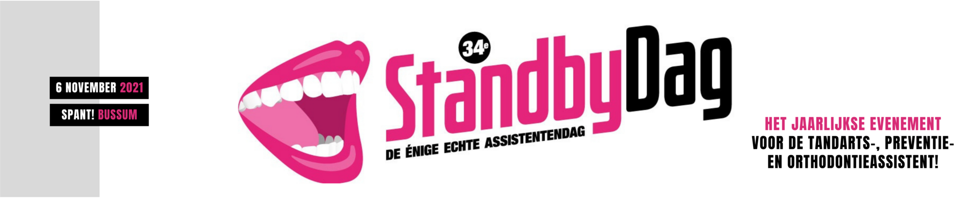 StandbyDag | 6 november 2021 (verplaatst)