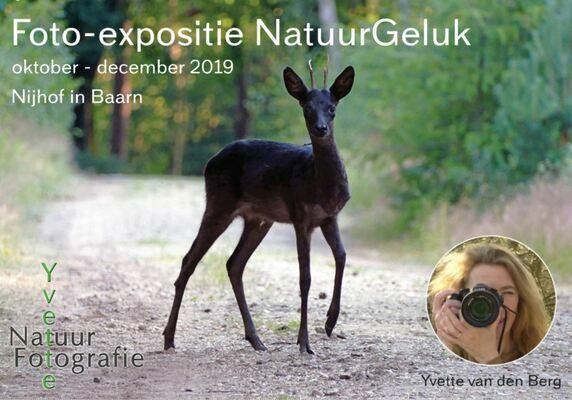 Lezing NatuurGeluk op 6 december 2019 bij Nijhof