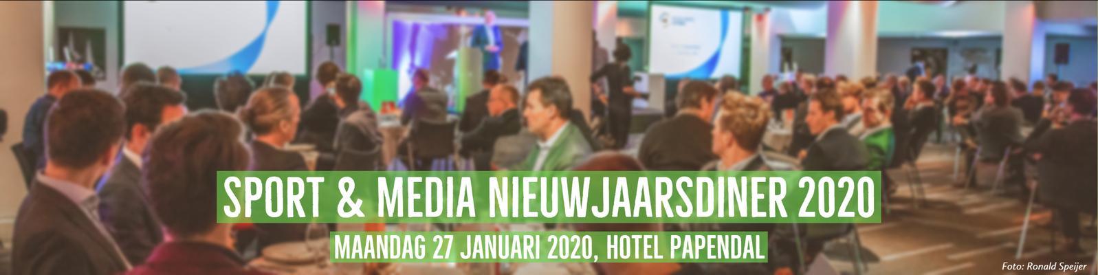 Sport & Media Nieuwjaarsdiner 2020