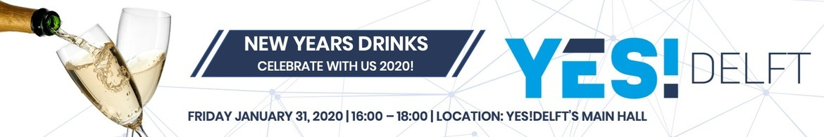 YES!Delft New Years drinks  2020