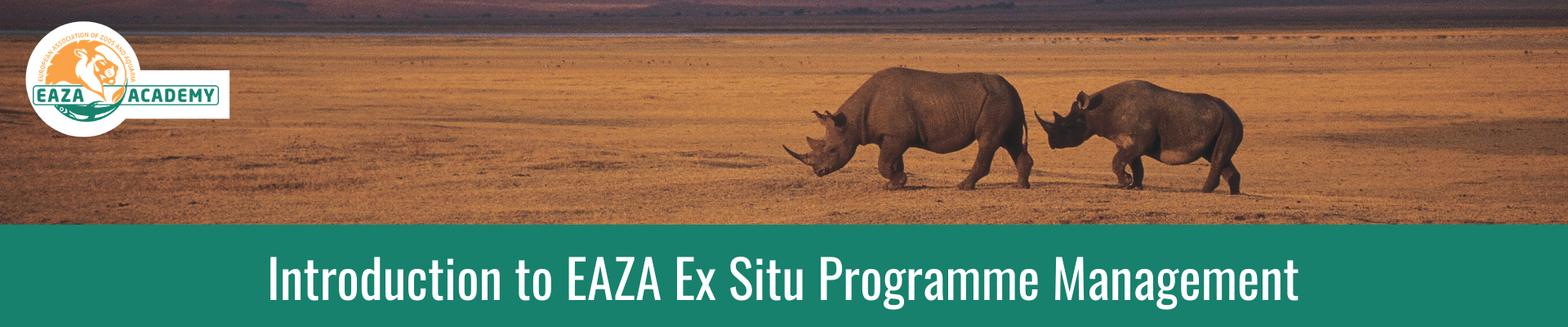 Introduction to EAZA Ex situ Programme Management_November