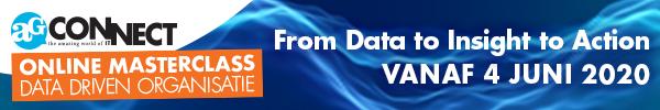 Masterclass Data Driven Organisatie Online -Start 4 juni 2020