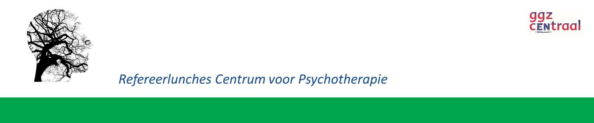 Refereerlunch Centrum voor Psychotherapie 13 januari