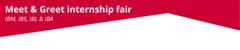 Meet & greet internship fair 2020 - jaar 3