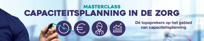 Masterclass Capaciteitsplanning in de zorg   9 & 10 maart 2021