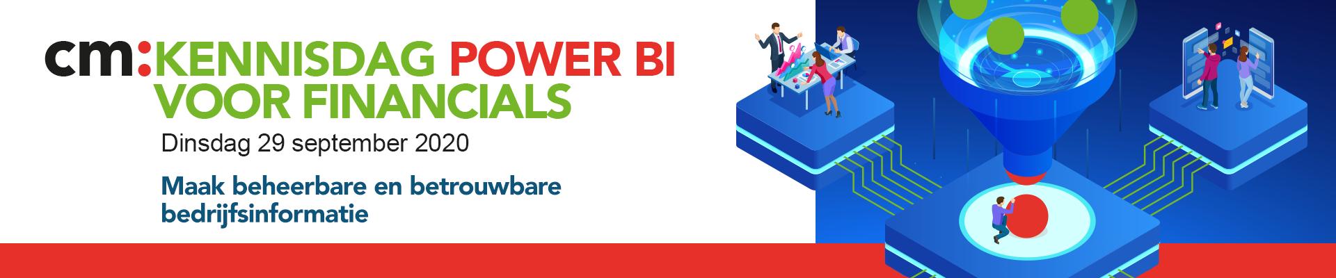 CM: Power BI voor financials