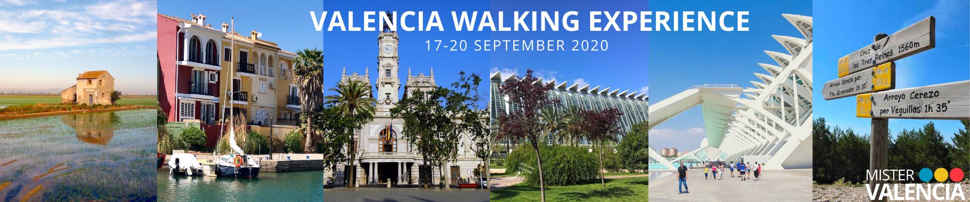 Valencia Walking Experience Sept 2020