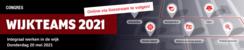 Congres Wijkteams 2021 | 20 mei 2021 (verplaatst)