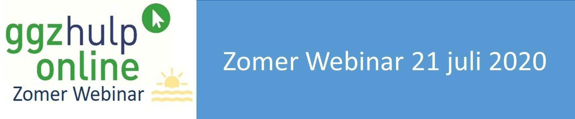 21-07-2020 Zomerwebinar ggzhulponline