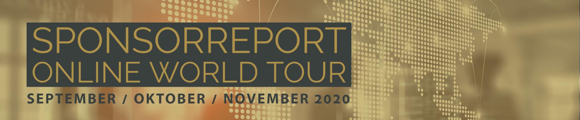 Sponsorreport Online World Tour