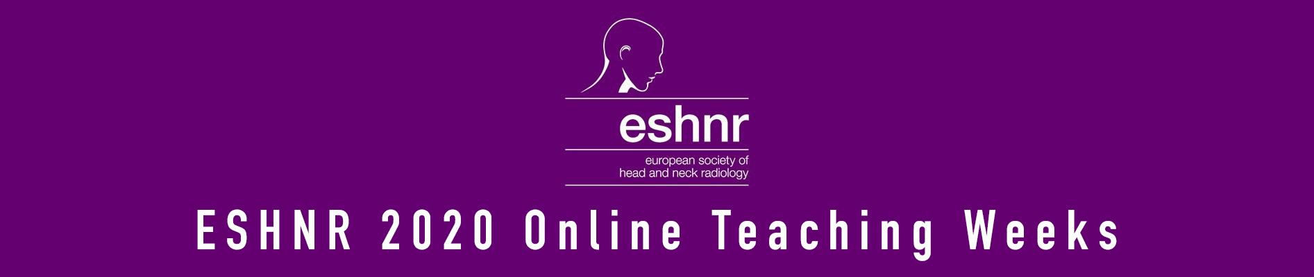 ESHNR 2020 Online Teaching Weeks