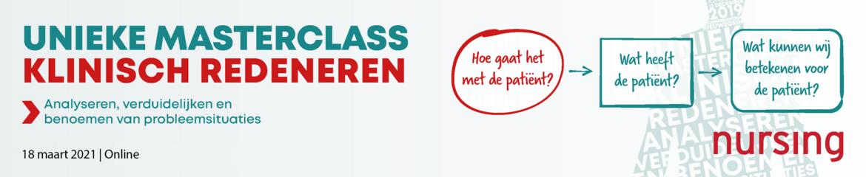 Masterclass Klinisch Redeneren | 18 maart 2021 (online)