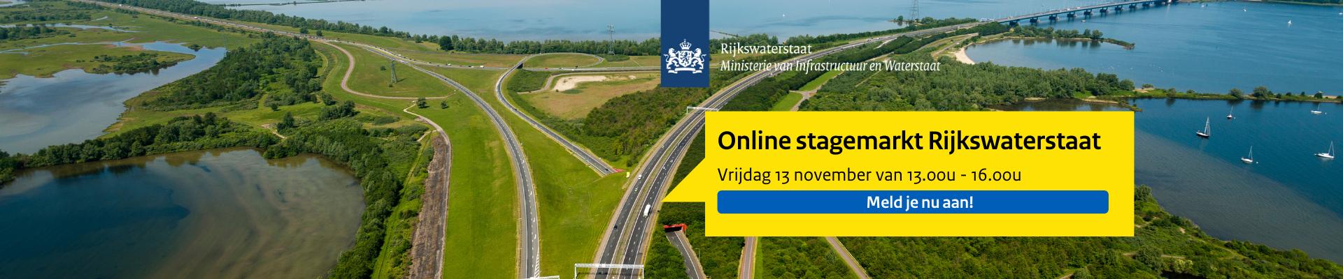 Rijkswaterstaat stagemarkt november 2020