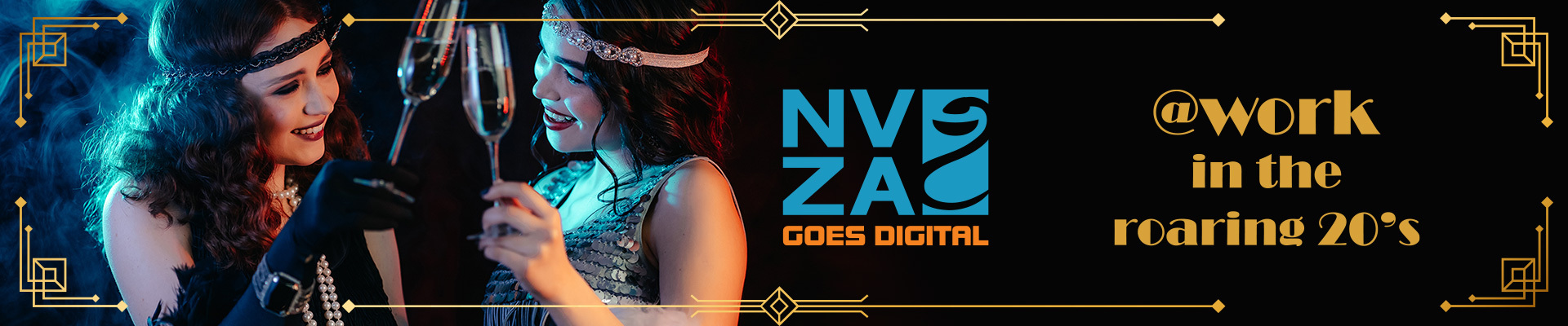 NVZA goes digital: @WORK in de Roaring 20's