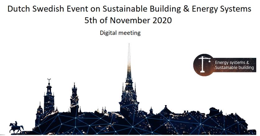 Dutch-Swedish Sustainable Building Event - Digital