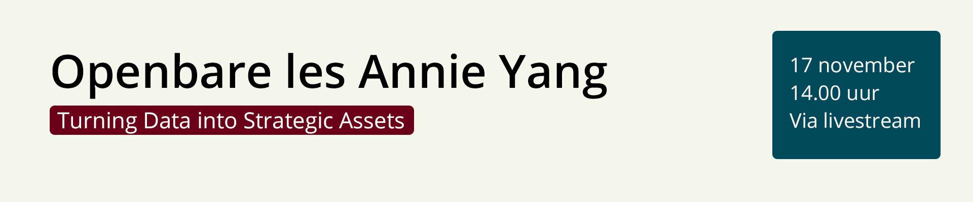Openbare les Shengyun (Annie) Yang