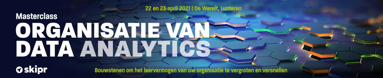 Masterclass Organisatie van Data Analytics | 22 en 23 april 2021