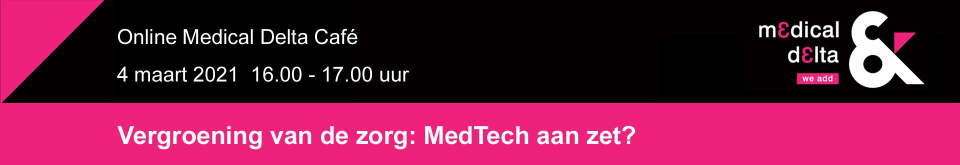 Medical Delta Café 4 maart 2021